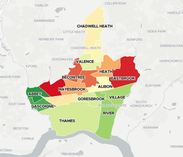 Barking & Dagenham: the all-new Borough Data Explorer and Social Progress Index