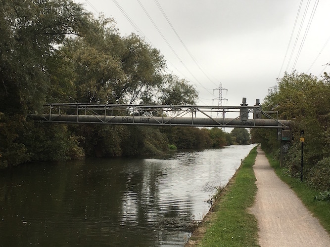 John Vane: the River Lea sunrise deep trance towpath run