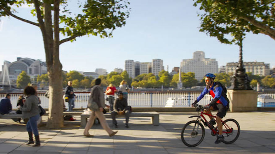 Dan McCurry: Cycling can help reclaim the Thames Path for us all