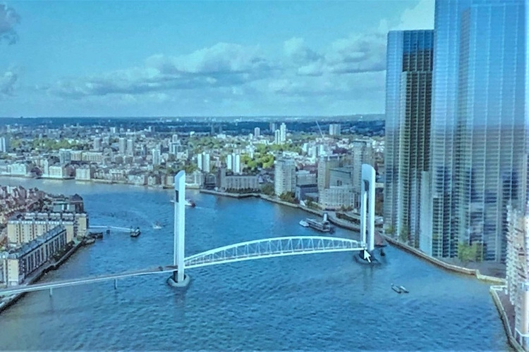 Andrew Wood: Sadiq Khan's Rotherhithe-Canary Wharf river crossing could collapse like the Garden Bridge