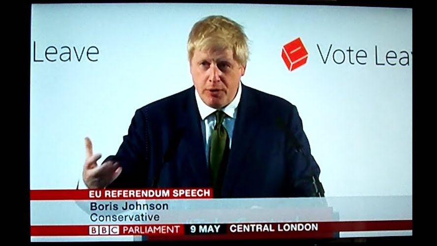 Mayor Boris Johnson's Brexit vision, 6 August 2014