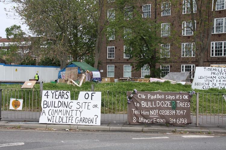 Lewisham: Tidemill, trees and housing need