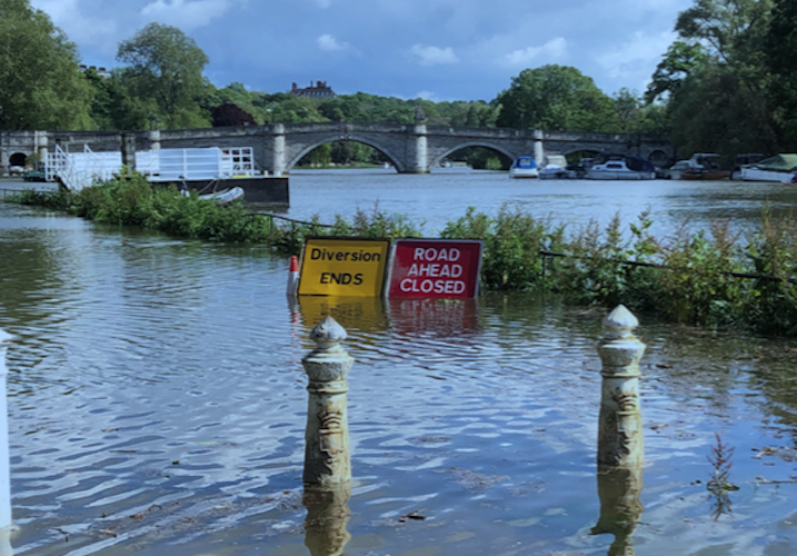 Risks of water shortages and flooding both on increase in London, says new report